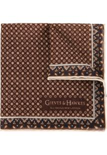 Gieves & Hawkes Echarpe Estampada - Estampado