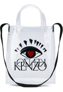 Kenzo Bolsa Tote I Love Kenzo Capsule - Branco