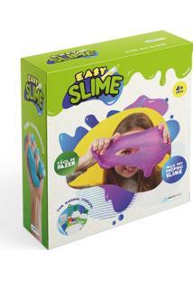 Kit Easy Slime Faça Você Mesmo Com Material Para 1 Unidade Indicado Para +4 Anos Multikids - Br1048