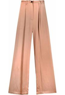 12 Storeez Calça Pantalona - Neutro