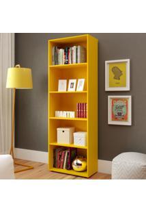Estante Para Livros Multy Amarelo - Artely