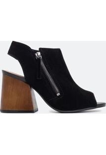 Sapato Feminino Gáspea Satinato