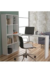 Mesa Para Computador Be 38 Branco - Brv Móveis