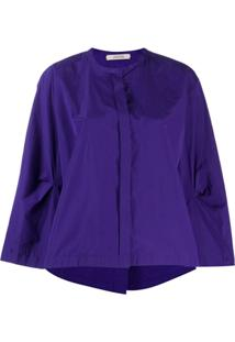 Dorothee Schumacher Flare-Styled Blouse - Roxo