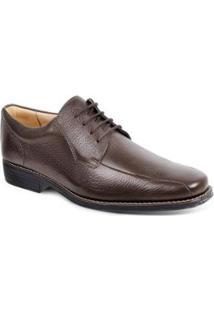 Sapato Social Derby Sandro Moscoloni Belmont Masculino - Masculino-Marrom Escuro