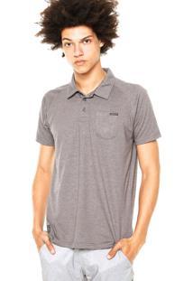 Camisa Polo Oakley Essential Pocket Cinza