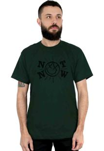 Camiseta 182Life Not Now Musgo