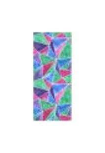 Adesivo Decorativo De Porta - Triângulos - 106Cnpt Auto Colante