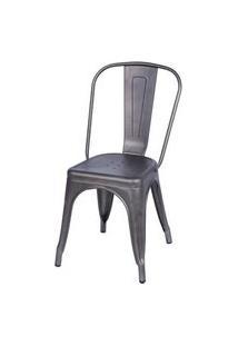 Cadeira Iron Bronze - 32946 Preto