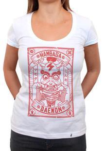 Hambaga Daemon - Camiseta Clássica Feminina