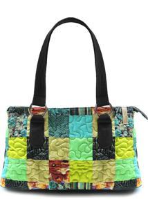 Bolsa Paige Clover Em Patchwork Original - Multicolorido - Feminino - Dafiti