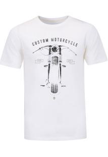 Camiseta Timberland Road Custon - Masculina - Bege
