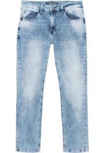Calça John John Slim Marau Jeans Azul Masculina (Jeans Claro, 42)
