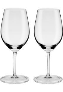Conjunto 2 Taças De Vinho Do Porto 220 Ml Profissional 722 - Oxford - Incolor