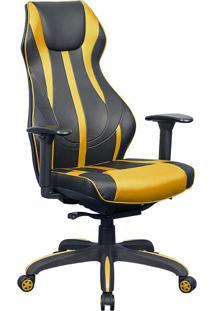 Cadeira Gamer Blitz Preta E Amarela
