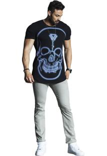 Camiseta Wolke Oversized Preta
