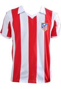 Camisa Retro Mania Atlético De Madrid 1970