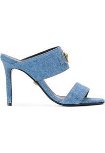 Versace Sandália Jeans Icon - Azul