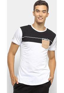Camiseta Polo Rg 518 Swag Masculina - Masculino-Preto+Branco