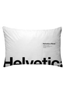 Fronha Para Travesseiros Nerderia E Lojaria Helvetica Branco Colorido
