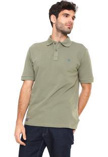 Camisa Polo Manga Curta Mr. Kitsch Basic Verde