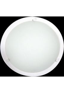 Plafon Pequeno Com Pino Branco Bivolt