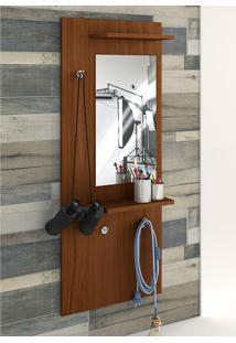 Painel Decorativo Vertical C/ Espelho Style – Estilare - Madeirado