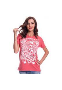 Camiseta Jazz Brasil Doomcrew Vermelha