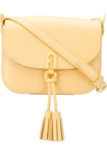 Furla 1927 Tassel-Embellished Crossbody Bag - Amarelo