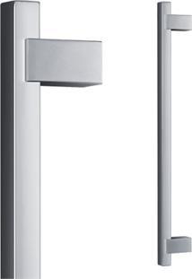 Puxador Para Porta Em Alumínio Concept Pca06 40Cm Polido
