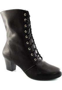 5e4cbaaa3 ... Bota Cano Médio Cadarço Numeração Grande Sapato Show 1130048E