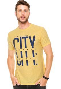 Camiseta Malwee City Amarela