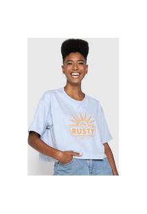 Camiseta Rusty Sol Azul