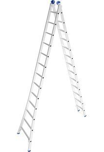 Escada De Alumínio Mor Extensiva, 26 Degraus - 5209