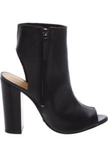 Open Back Boots Black   Schutz