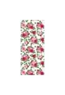 Adesivo Decorativo De Porta - Flores - Rosas - 1674Cnpt