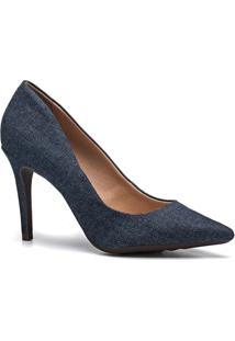 Scarpin Feminino Milano Jeans 10646