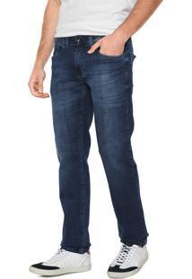 Calça Jeans Aramis Reta Lisa Azul