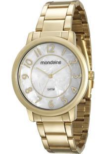 Kit Relógio Feminino Mondaine 53534Lpmvde1Ke Analógico 5Atm + Conjunto Semijóia