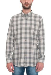 Camisa Manga Longa Lw Plaid Cargo
