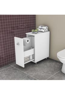 Balcão Para Banheiro Movelbento Bcm 116 1 Gavetão Branco