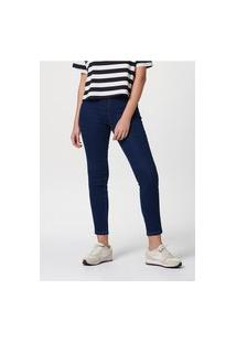 Calça Jeans Feminina Modelagem Jegging Com Elastano