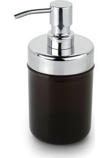 Kit 6 Dispenser Sabonete Líquido Acquaset Ônix Forma