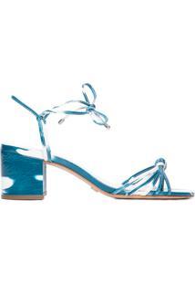 Sandália Feminina Tie Dye - Azul