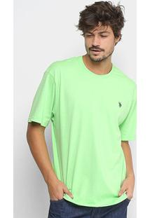 Camiseta U.S.Polo Assn Com Bordado Masculina - Masculino