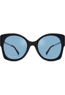 Óculos De Sol Max&Co Feminino - Feminino-Cinza