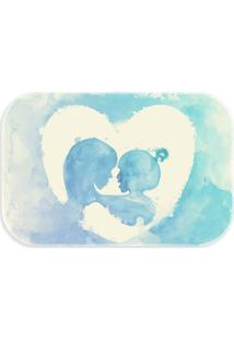 Tapete Love Decor Wevans Mãe E Filha Color Azul