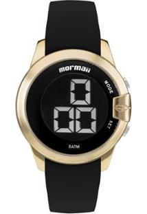 Relógio Mormaii Interestelar Feminino - Feminino-Preto