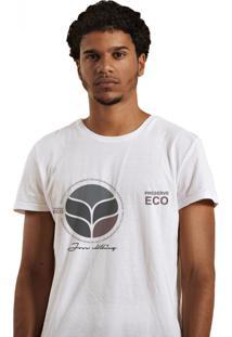 Camiseta Masculina Joss Premium Eco Branca
