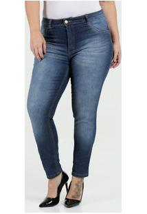 5ad90ff37 ... Calça Feminina Jeans Skinny Stretch Plus Size Biotipo